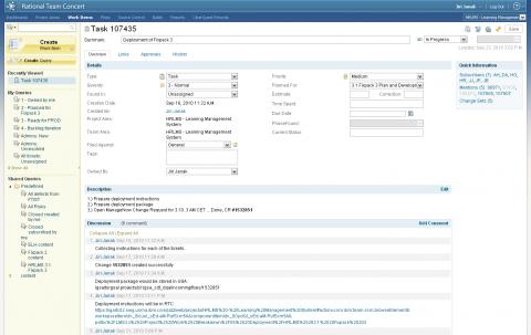 RTC web client