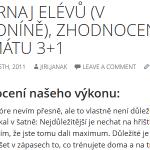 Twenty Fourteen s fontem Open Sans